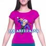 Camisetas Heroe, Mutante, Gamer, Bandas Musicales Femeninas
