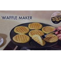 Frigideira P/ Panquecas Waffle Alumínio Antiaderente-import