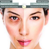 Creme Facial Multifuncional Com Pó De Pérola & Argila Branca