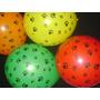 Globos De Colores Con Huellas !! 50 Unidades X $280