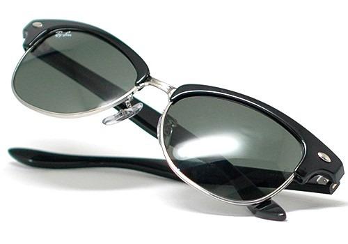 77db64d8b1a real ray ban clubmaster black silver 53210 8819d
