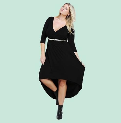 Vestido De Fiesta Largo Tallas Extras Envío Gratis 1632 , $ 990.00 en Mercado Libre