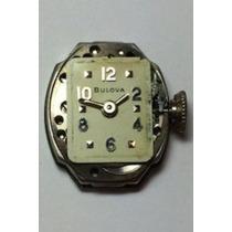 Lote De 3 Relojes Dama, 2 Bulova - 1 Glycine Vintage *50