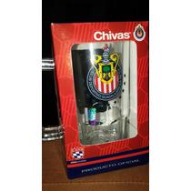 Tarro Cristal Chivas Guadalajara Original