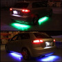 Kit De Luces Led Bajo Chasis Tipo Neon 7 Colores Con Control