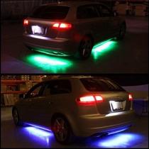 Kit De Luces Led Bajo Chasis Tipo Neon 7 Colores Con Control