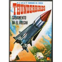 Thunderbirds Novela Gráfica Pulp Ed Fehr 1966 Col Futuro T V