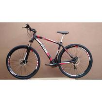 Bicicleta Ecos Aro 29, Freio Disco, Rapid Fire, Camb Shimano