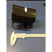 Sirene Corneta Magnética De Alta Potência Preta 12v 120db