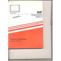 Libro De Preparatoria De Textos Literarios 1