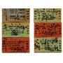 Lote Seis Boletos Via Libre Fte Y Afe 1936-1953-1954