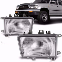 Farol Hilux Srv Sr 2002 2003 2004 Pick Up Marca Daimond Le
