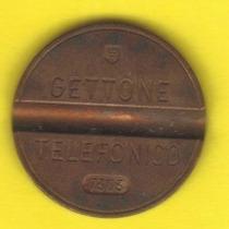 Ficha Telefónica 1973 Italia 50 Liras Teléfono Público - Hm4