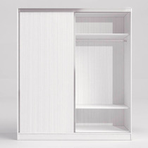 Placard Ricchezze Morena 1,80m Puertas Corredizas Blanco