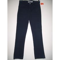 Pantalón Niña Talle 12-14 Años Jeans Elastizado Chupín