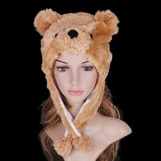 Touca Urso Ted Desenho Masha E O Urso Marrom Fantasia - R  34 00b44b25861