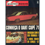 Quatro Rodas Nº120 Dodge Dart Cupê 1971 Corcel Gt Emerson F1