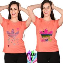 Remeras Adidas Mujer Originals Pack 10 Surtidas Mayoristas
