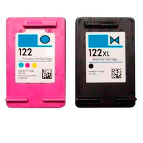 Cartucho 122xl Preto E 122 Colorido Impressora Deskjet 2050