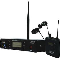 Sistema Retorno In Ear Sem Fio Profissional Fone Pe640 Lyco