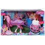 Barbie Mariposa Y La Princesa De Las Hadas! Carruaje!