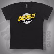 Camiseta The Big Bang Theory Bazinga - Sheldon Flash Cooper