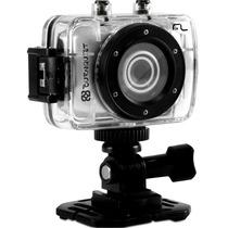 Câmera Hd Filmadora Esporte Capacete Prova D