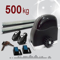 Kit Motor Porton Corredizo Automatico 500kg Rapido