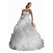 Vestido Novia Boda Matrimonio Damas Quinceaños 15 Años