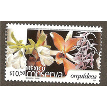 Mexico Conserva Orquideas $10.50 Flora