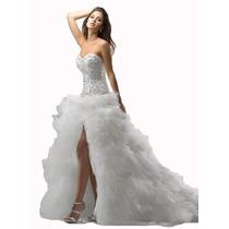 Vestido Novia Boda Matrimonio Damas Y Quinceaños 15 Años