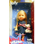 Juguete Barbie-kelly Muñeca Blanca Y Roja Linda Edición Esp