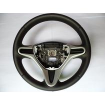 Volante Couro Troca Honda New Fit/city