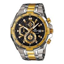 Relógio Casio Edifice Efr-539 Sg-1av Cronometro V.mineral G