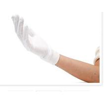 Luvas De Algodão P/ Proteção E Tratamento De Alergias Tam P