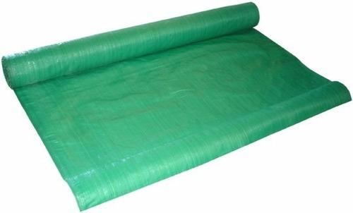 Cubre cerco de rafia verde el mejor precio for Lona para estanque precio