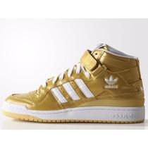 Tênis Adidas Originals Star Forum Nigo Gold, Pronta Entrega.