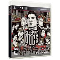 Sleeping Dogs - Ps3 - Midia Fisica, Original E Lacrado