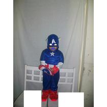 Disfraz De Capitan America Para Niños