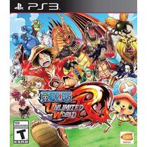 One Piece Unlimited World Red Ps3 Mídia Física Novo Lacrado