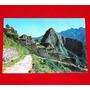 Postal Antigua Machu Picchu 1977 Entrada A Ruinas Cusco Perú