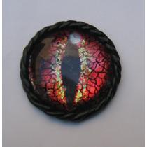 Wicca Druida Magia Ojo De Dragon Rojo Cajita