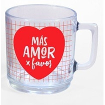 Taza De Vidrio (mas Amor X Favor)