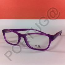 Armação Uva Pequena Gatinha Feminina Óculos Lente Grau 64253