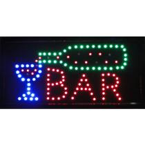Placa De Led Letreiro Luminoso Bar 1602 220v