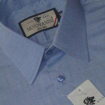 Camisa Social Slim Fit 100% Algodão Fio 50 Extra 51 1005