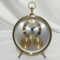 Hermoso Reloj Despertador Cuerda Bulova Vintage Japan Oferta
