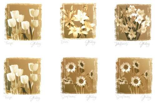 laminas con flores