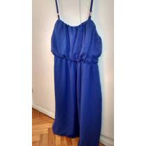 Vestido Azul Importado!!! Fiestas!!! Dia De La Madre!
