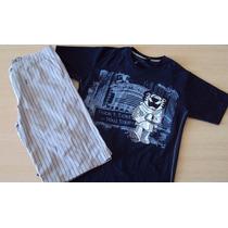 Conjunto Tigor T Tigre Camiseta/bermuda T.12